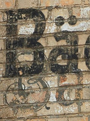 Sangerhausen Bakery Bäckerei Ghost Sign