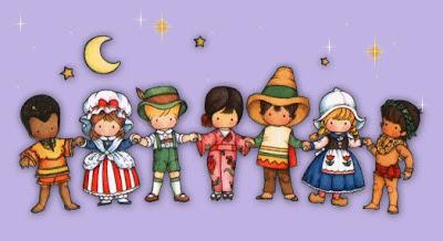 Fle en eso no l des enfants du monde - Noel enfant du monde ...