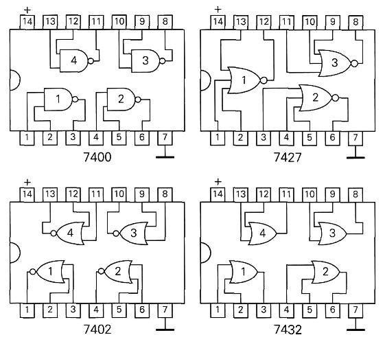 Circuito Integrado 7408 : Alma de herrero puertas lógicas ttl