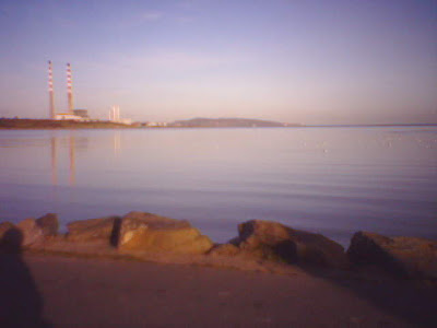 Sandymount Dublin Poolbeg Powerstation Photo