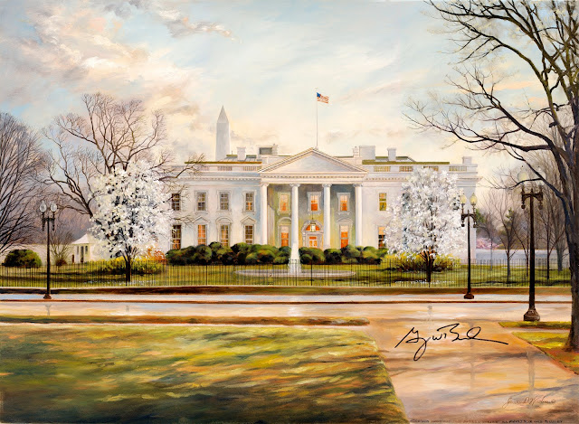 Twilight at the White House
