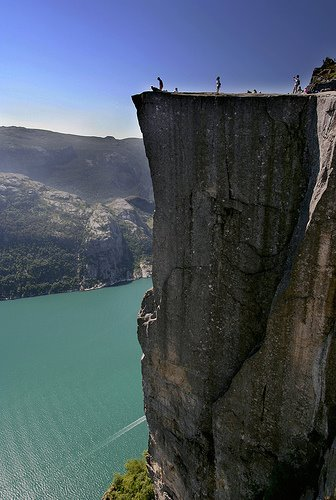 pulpit rock, stavanger, norway