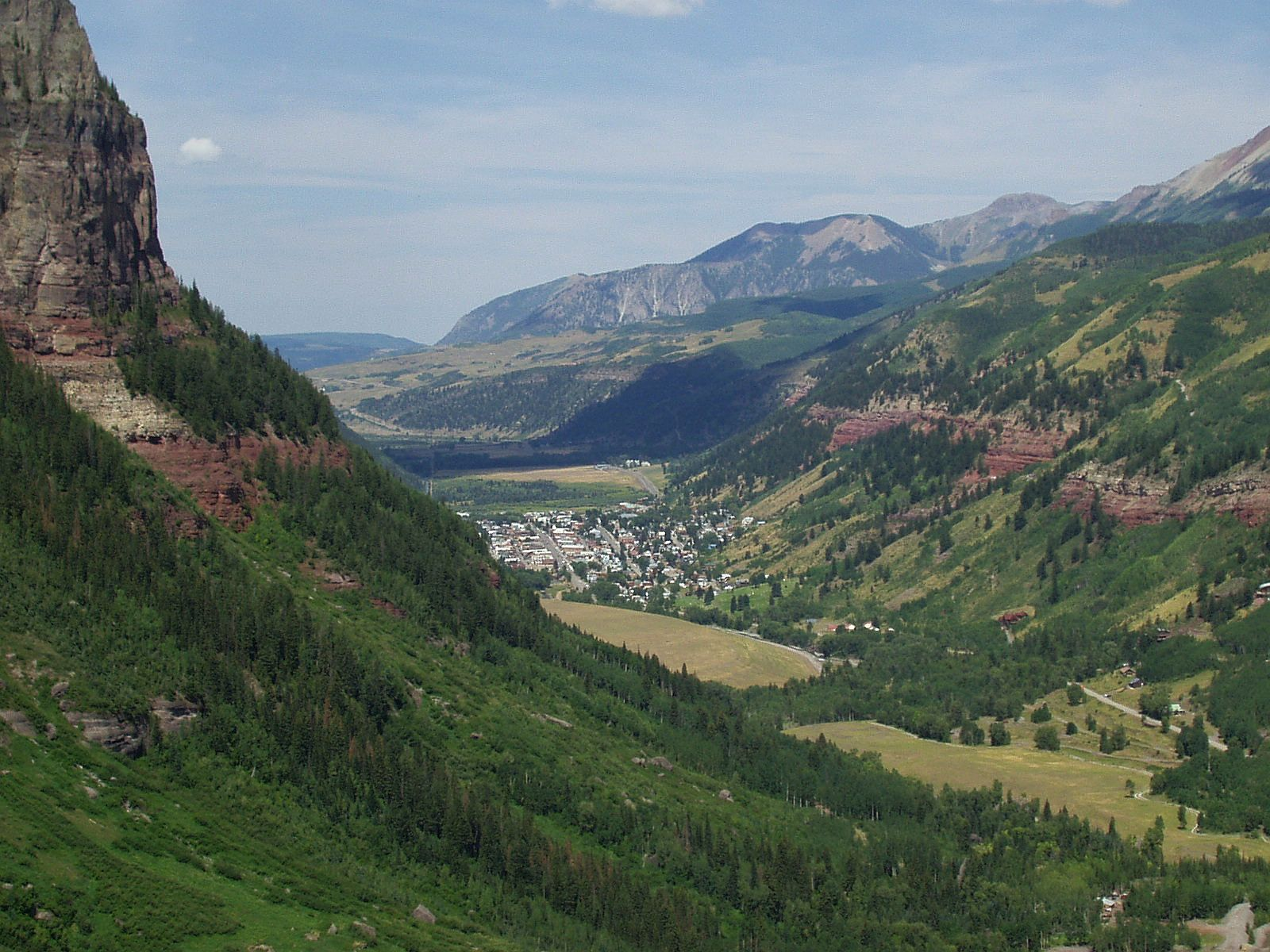 view of telluride, colorado