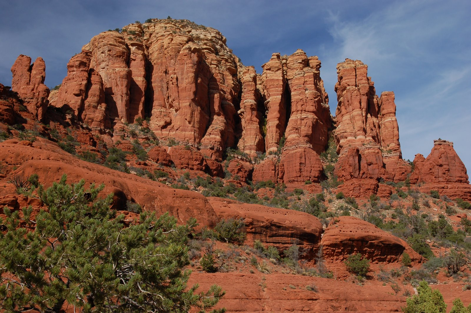 chicken point, broken arrow trail, sedona, arizona