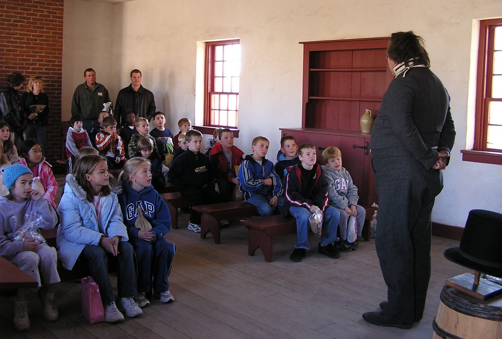 schoolmaster at fort snelling