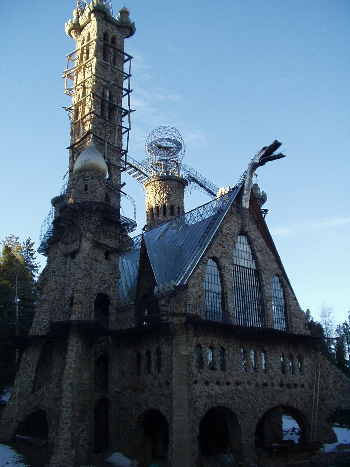 bishop castle, beulah, colorado