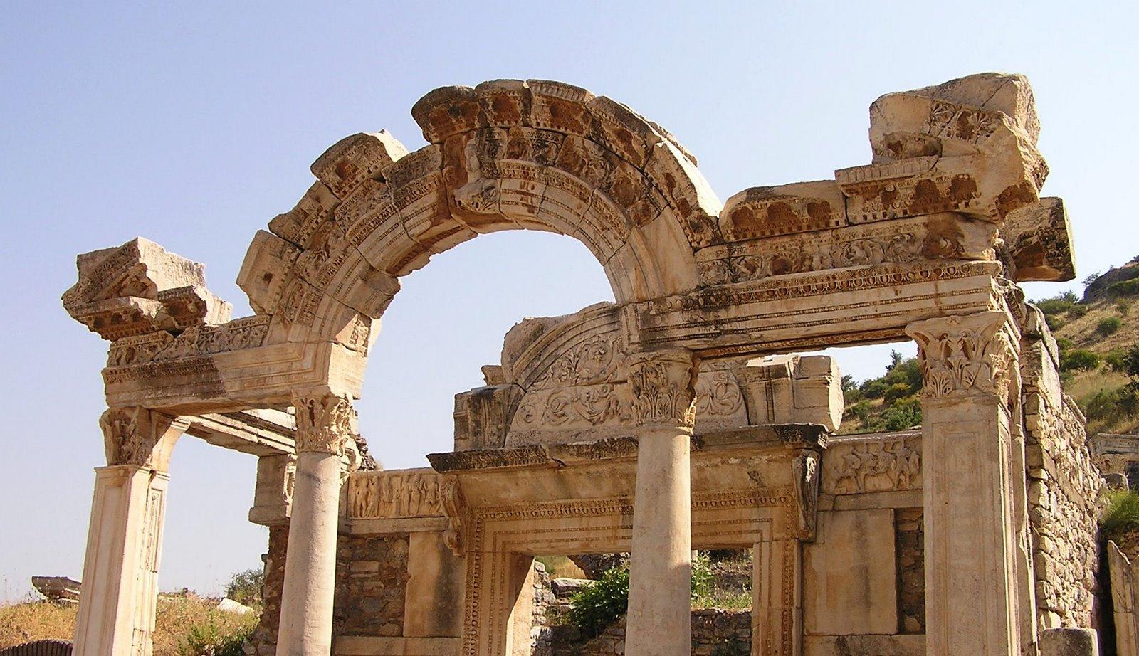 Hadrian's Arch, Ephesus, Turkey