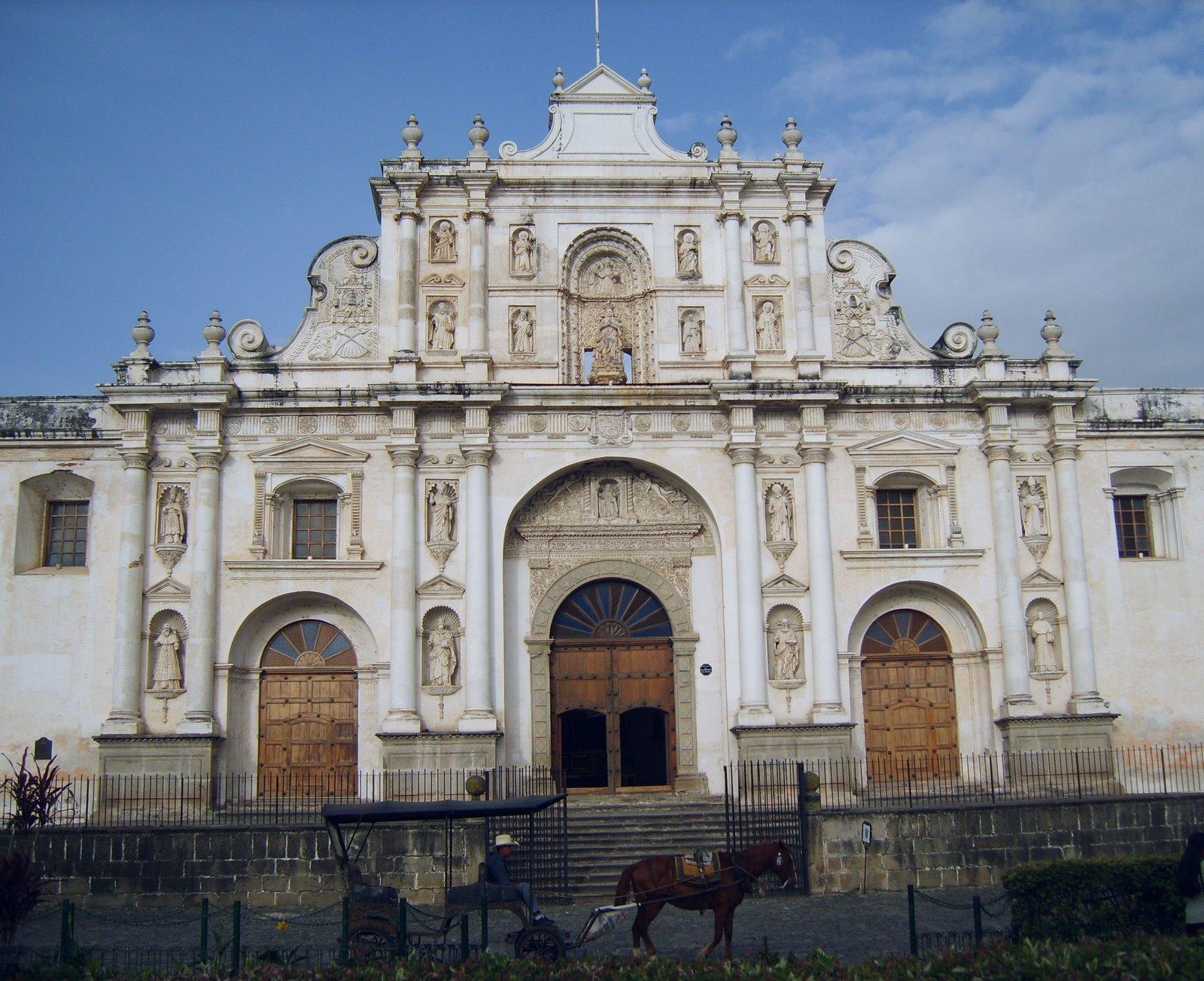 cathedral de santiago, la antigua guatemala