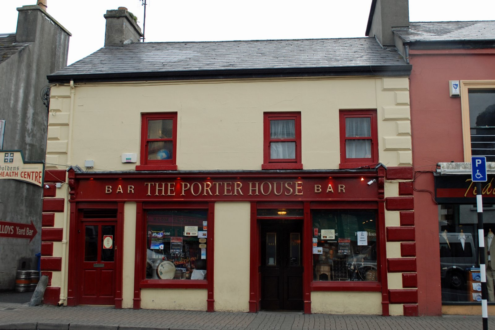 porterhouse pub, westport, ireland