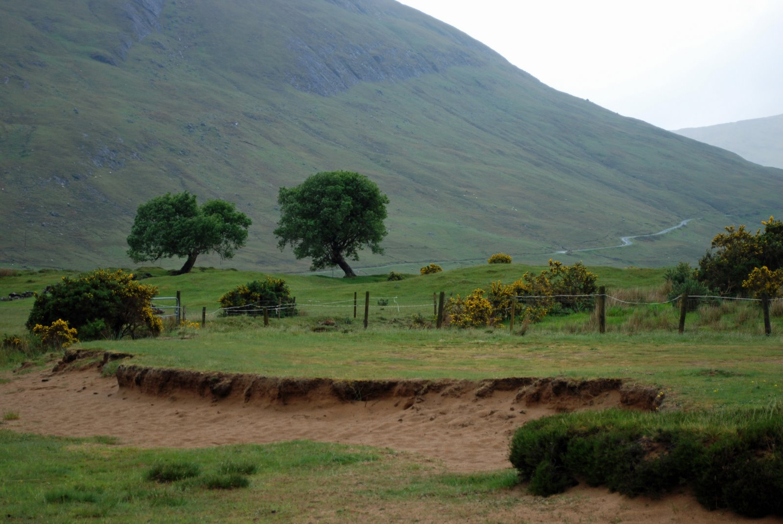 lough nafooey, county galway, ireland