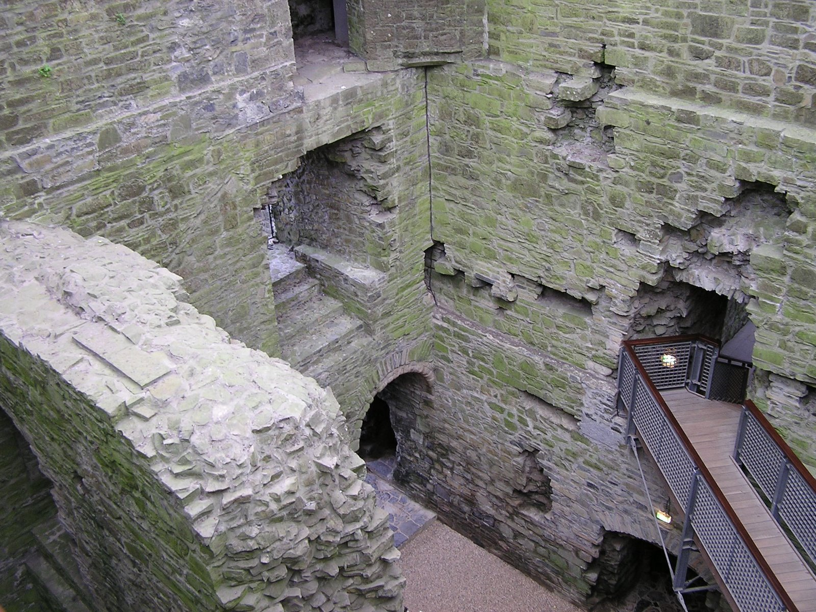 inside trim castle, ireland