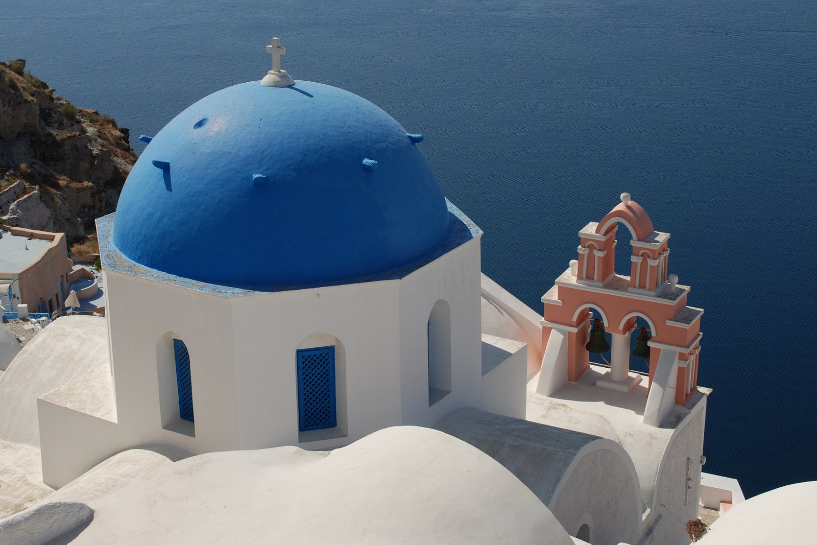 anastasis church, oia, santorini