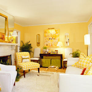 Yellow Wall Paint Decorating Ideas Interior Decorating Ideas To