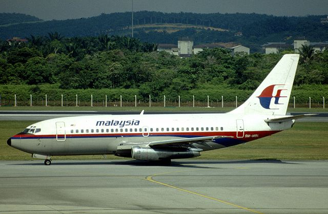 Malaysia airlines flight 653 a boeing 737