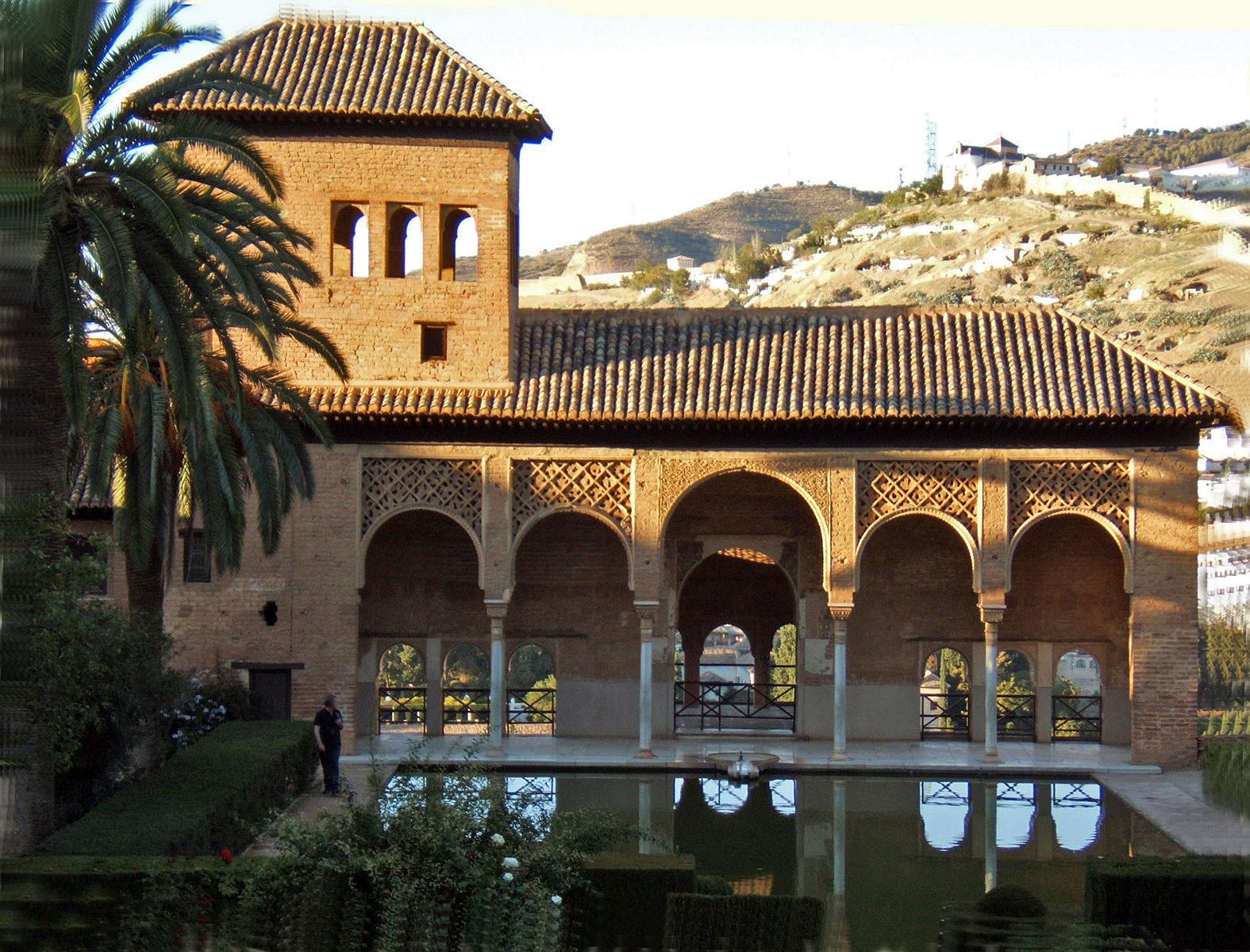 Fotografiando jardines del partal alhambra granada for Jardines alhambra