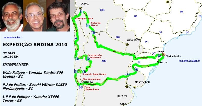 EXPEDIÇÃO ANDINA 2010