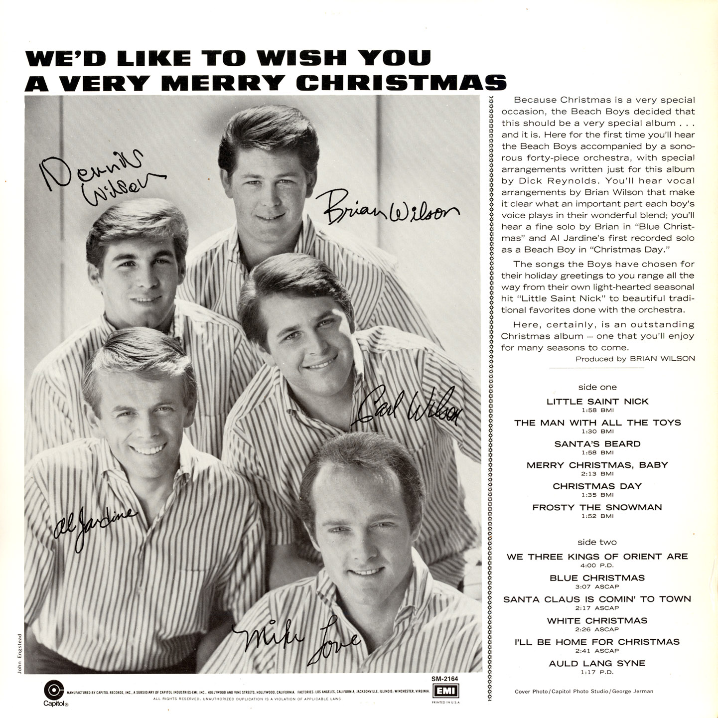 beach boys christmas album 1964 - 69 Boyz Christmas Song