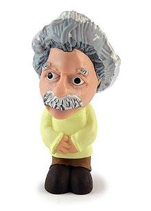 Einstein figurine