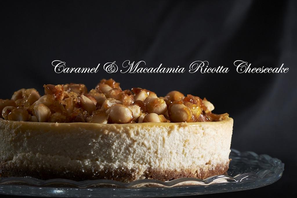 baked ricotta cheesecake recipe