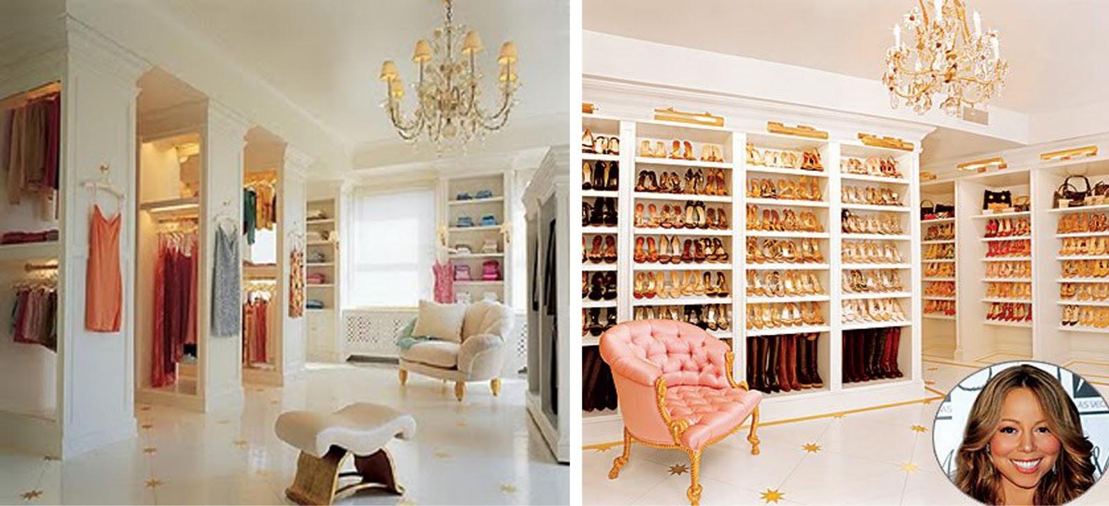 Outstanding Inside Mariah Careys Closet Top Walk In I To Na Zvjezdani Nacin 1600 X 731