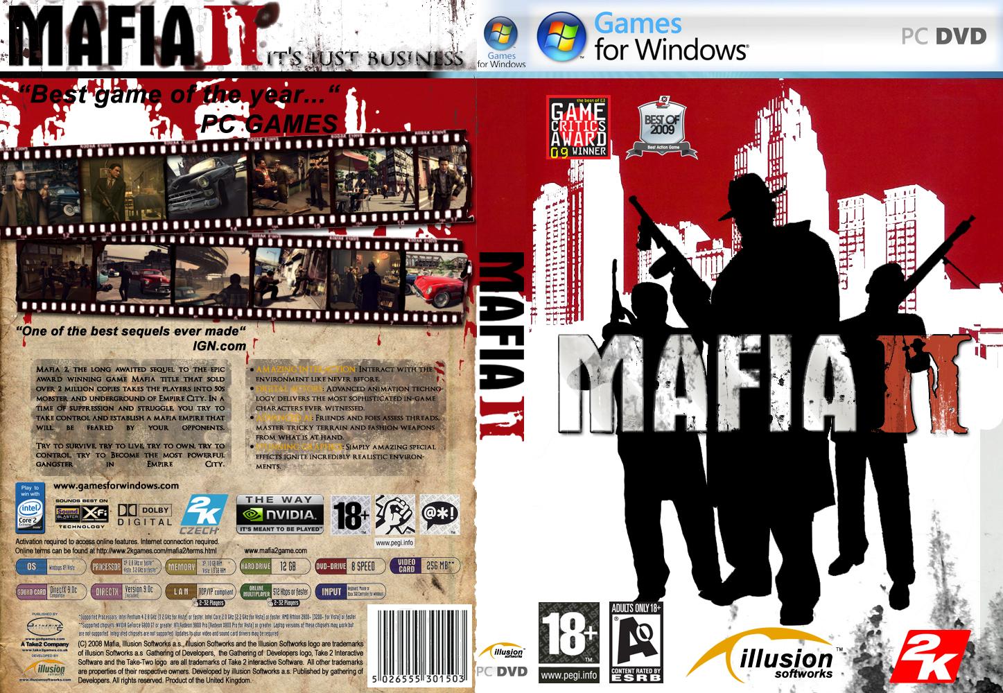 Mafia 2 PC Game Installation Overview