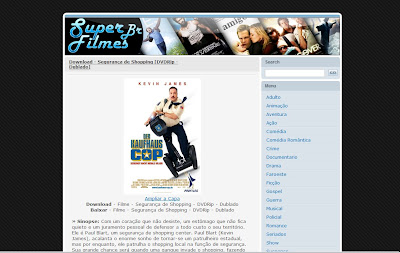Template do blog Super Filmes Br