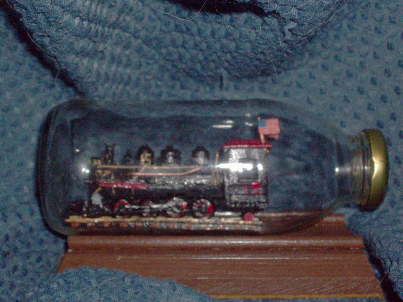 Locomotives In A Bottle Model Train Help BlogModel Train