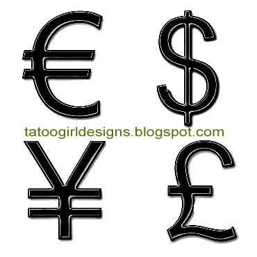 money picture for tattoo designs