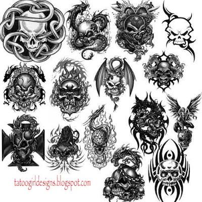 dark evil tattoo ideas designs