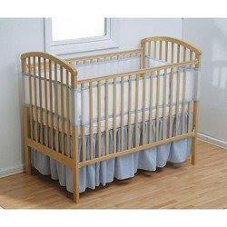 Baby Crib Sets Breathablebaby Crib Bumper Blue Gingham