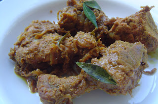 Chicken Piralen, a semi-gravy recipe from Kerala
