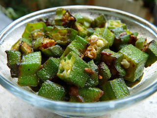 Bhindi Masala, Spicy Okra