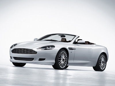 2009 Aston Martin DB9 Volante Wallpaper