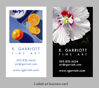 Artist Business Cards Examples