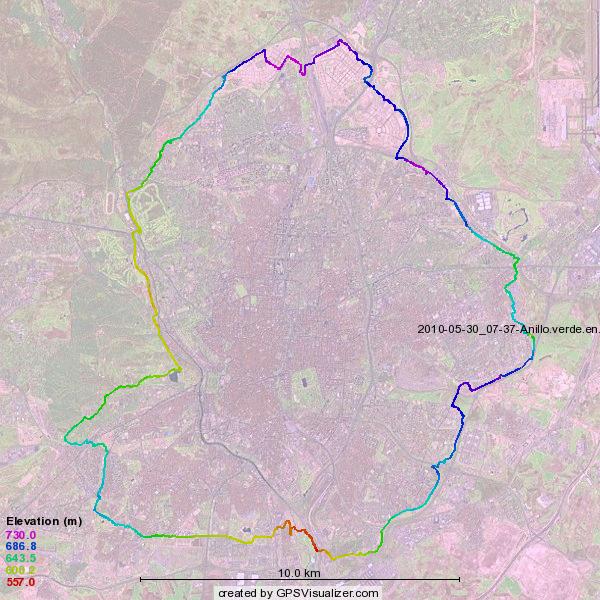 M s a mi favor anillo verde ciclista prueba superada - Anillo verde ciclista madrid mapa ...