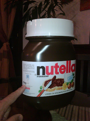THE *NEW* HOUSE: Nutella 5 Kg!