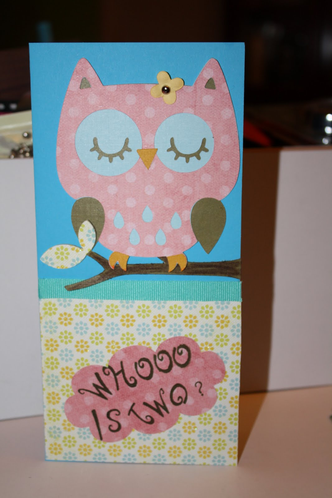 Sallie sweet sewing and cricut crafts birthday card for for Friendship crafts for 2 year olds