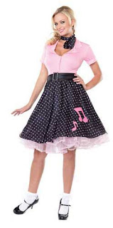 50's Sock Hop Costume