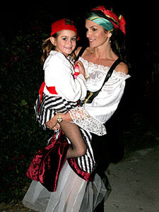 Cindy Crawford Pirate Costume