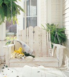 Nantucket Yellow Pine Porch Swing