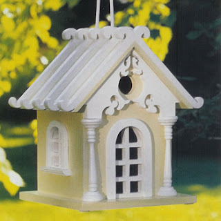 Fairytale Cottage Bird House