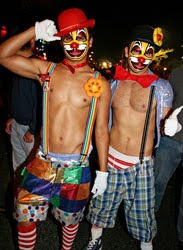 Sexy Men Clown Costumes