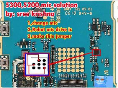 Nokia 5200 Mic Problem Solutions