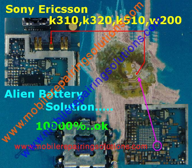 Mobile Repairing Solutions  Sony Ericsson K310 Alien