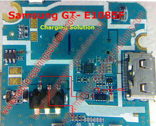 Samsung GT- E1085F Charging Ways / Jumpers / Charger Not Supported / Not Charging Problem - Solution