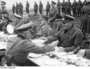 Adolf Hitler in the Czech Sudetenland