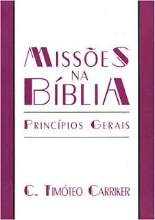 Missões na Bíblia: Princípios Gerais