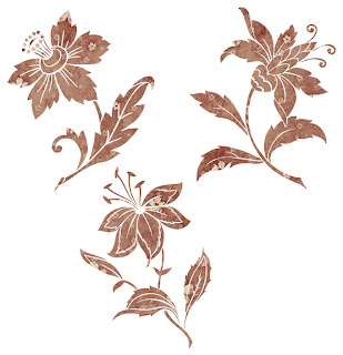 Free SVG Home Decorative Stencil Flowers