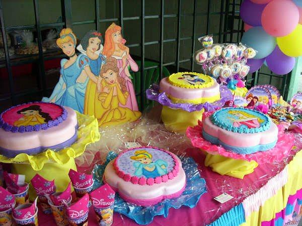 Todo para tus fiestas cumplea os de ariamny tema las - Decoracion fiesta princesas disney ...
