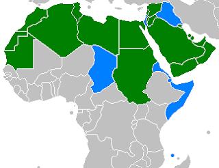 Idioma del Futuro Arabic_speaking_world